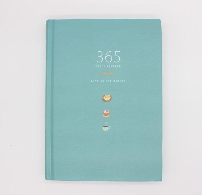 planer 365 tage blau