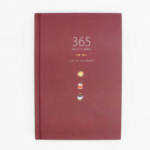 planer 365 tage rot