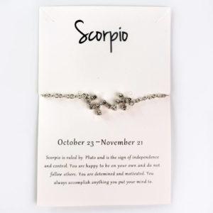 sternzeichen kette skorpion