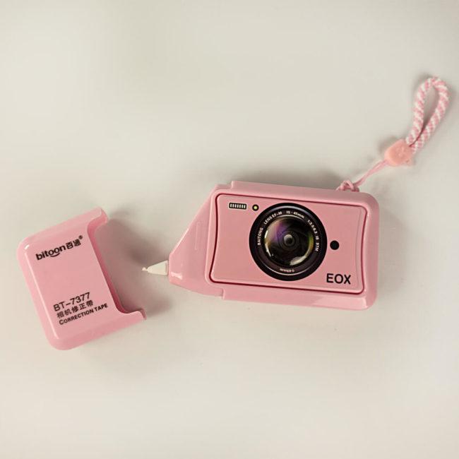 korrekturstift foto rosa